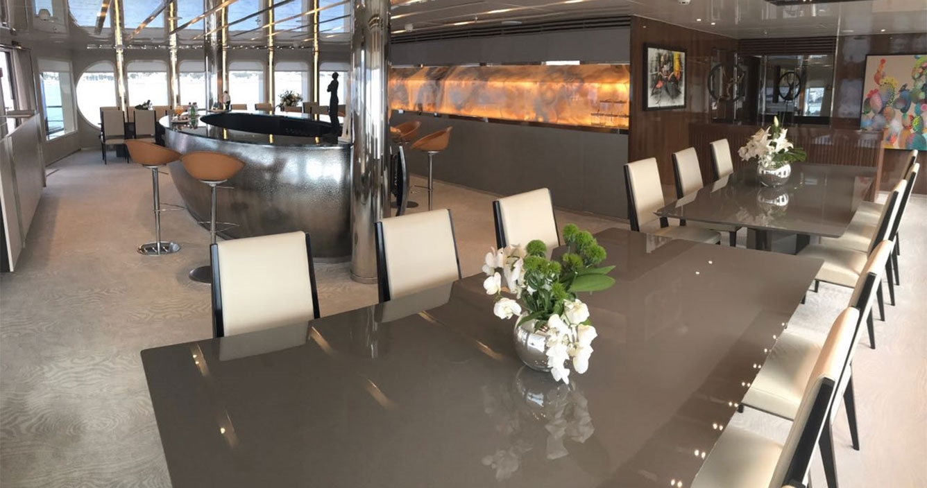 Serenity Main Deck Dining Area