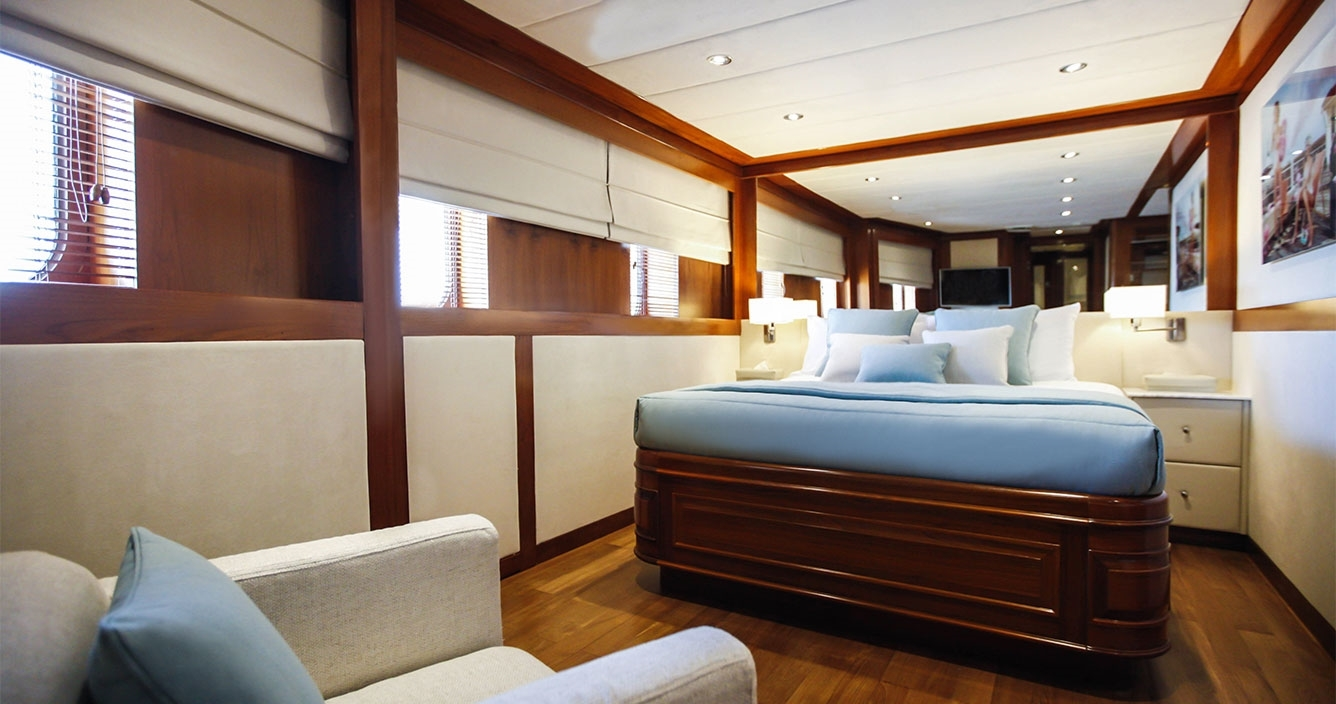 Aspire Main Deck Double Cabin