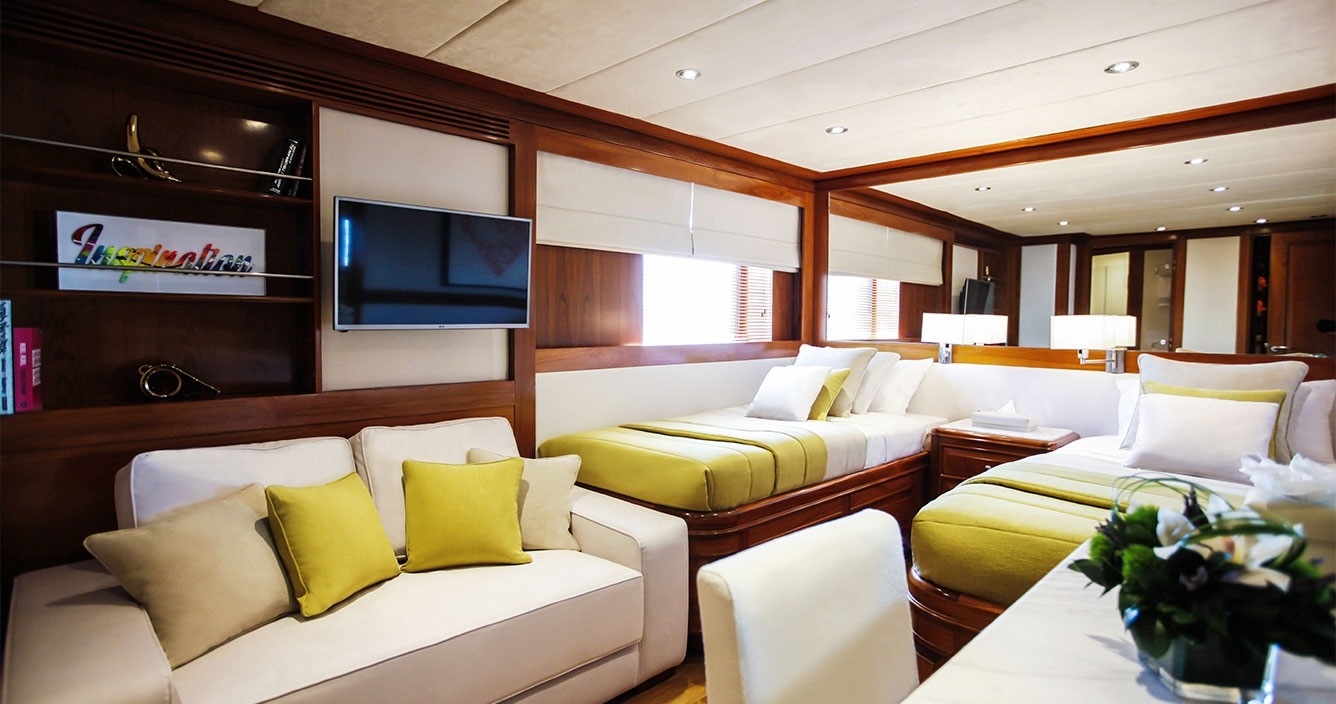 Aspire Main Deck Twin Cabin