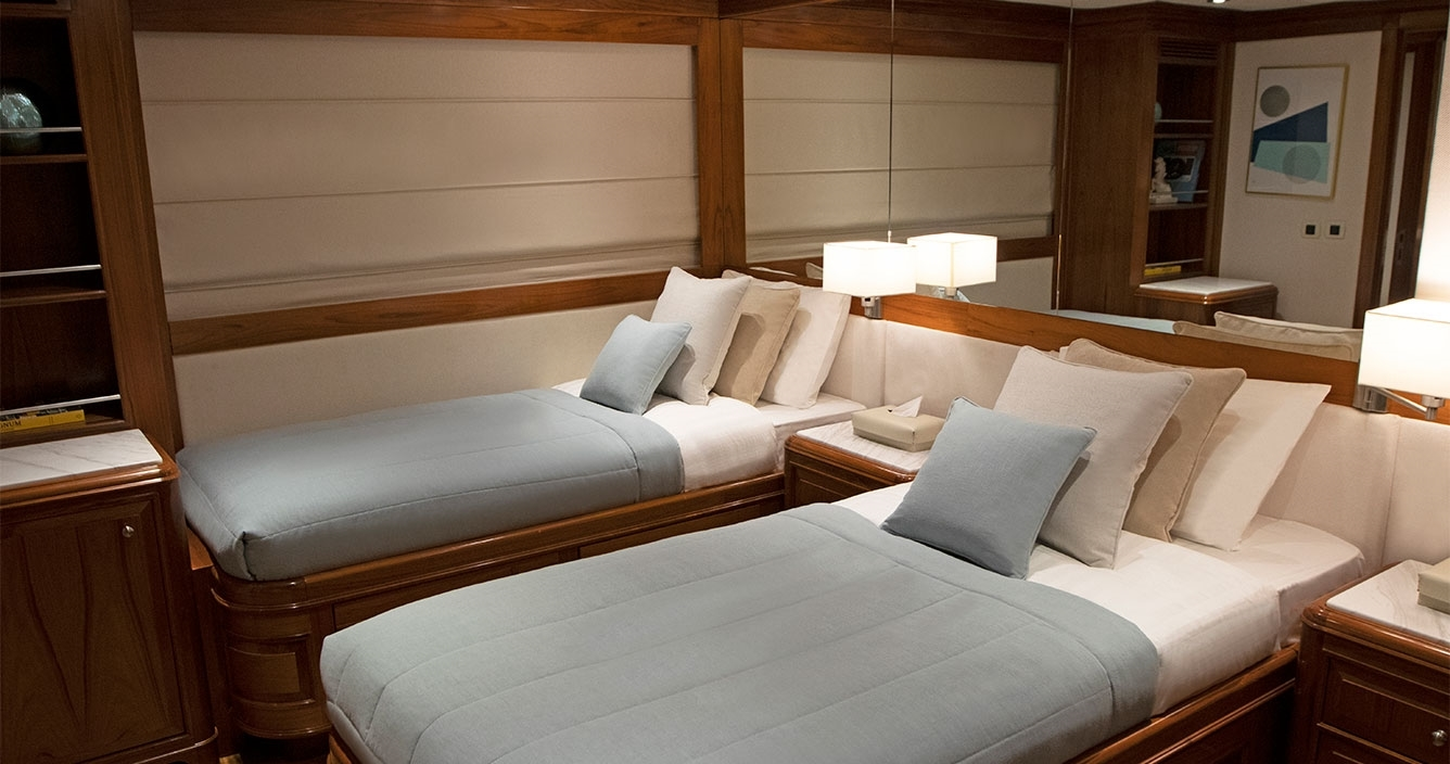 Aspire Lower Deck Twin Cabin