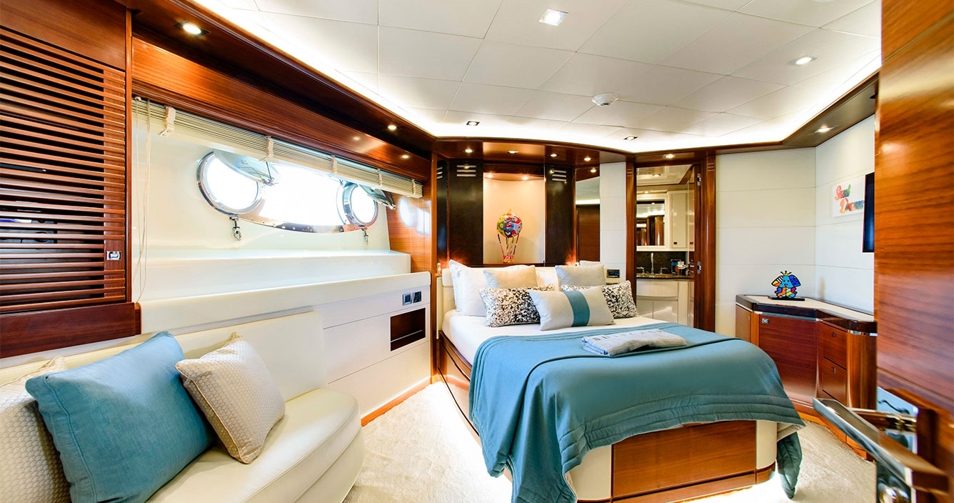 Libertas Lower Deck Double Cabin